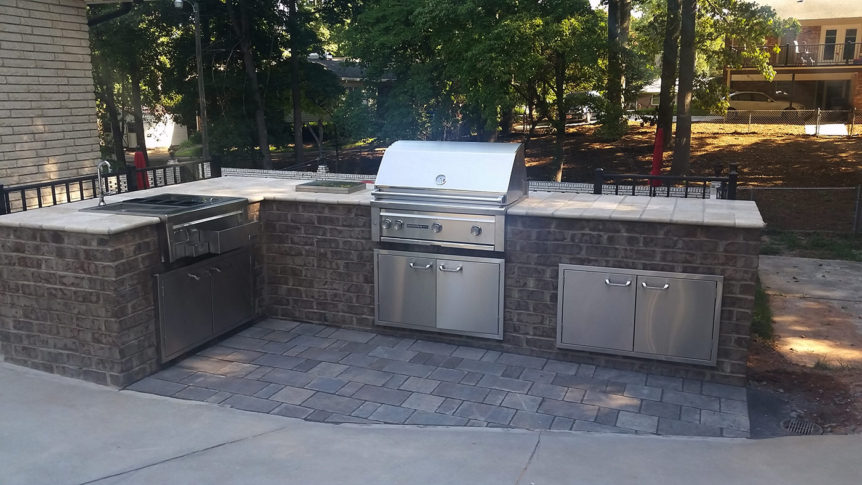Isenhour outdoor kitchen