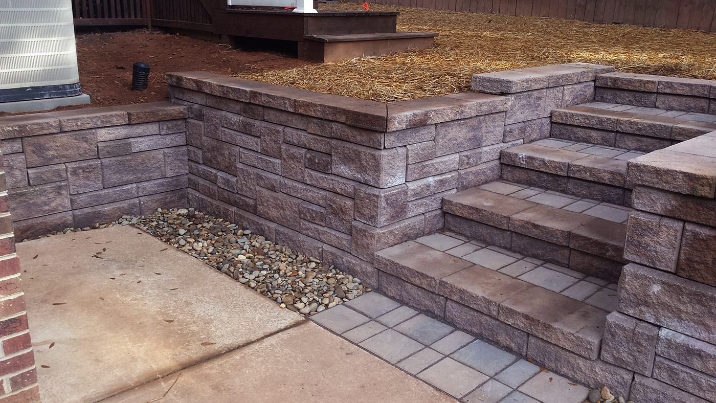 Meares retaining wall 2