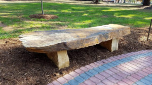 Stone benches 1