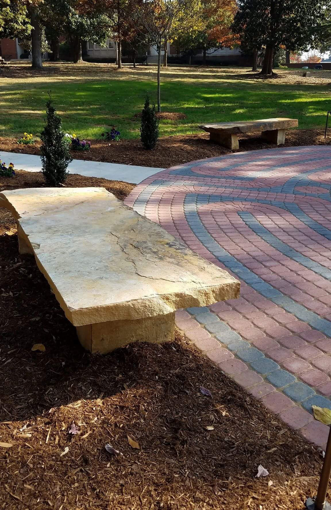 Stone benches 2