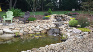 Tysinger pond after