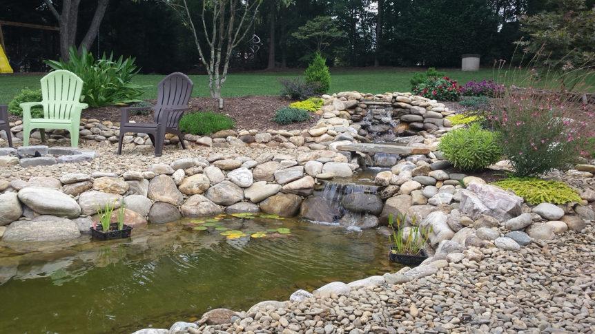 Tysinger pond after