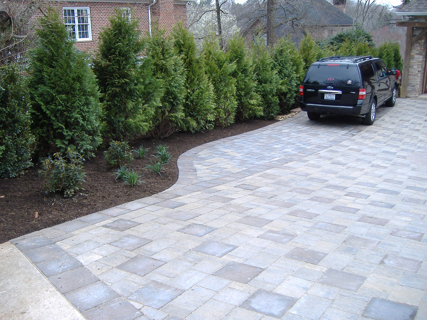 Wyatt driveway after pic 2